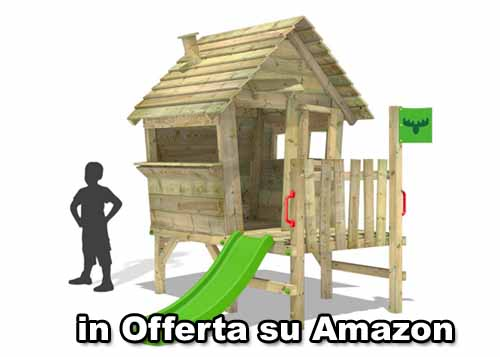 casetta in legno bambini